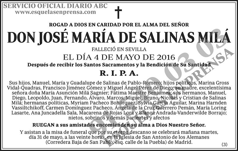 José María de Salinas Milá